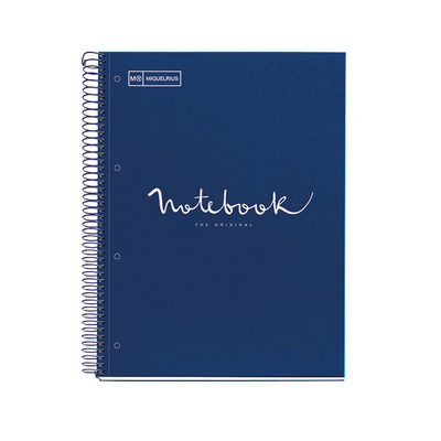 Miquel Rius Emotions Navy Board Cover 1 Sub Notebook