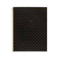 Miquel Rius Dots Black & Gold 4 Sub Notebook