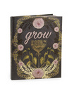 Papaya Hardcover Journal, 7x9, Grow