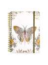 Paisley Butterfly Mini Spiral Notebook