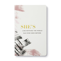 Write Now Journal by Compendium Shes like nothing the world has ever seen before.