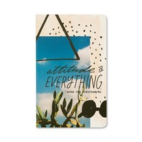 Write Now Journal by Compendium Attitude is everything.