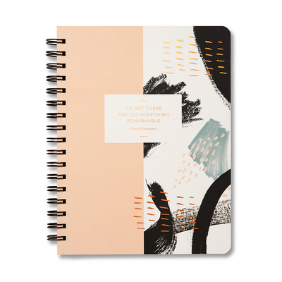 Wireo Notebook by Compendium Go out there and do something remarkable.