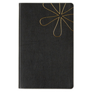 Erin Condren Black Softbound Notebook, Lined   5 x 8