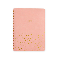 Pierre Belvedere Notebook Soft cover in Pu with gold dots