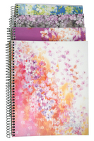 Petals 5 subject notebook, CR