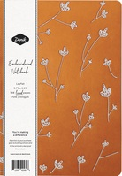 Denik Samantha Vegan Leather Embroidered Journal