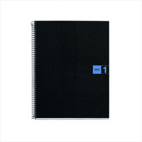 Miquel Rius Blue 1 Subject Notebook