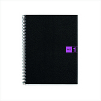 Miquel Rius Purple 1 Subject Notebook