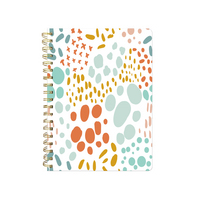 MED. NOTEBOOK WITH UNEVEN DOTS