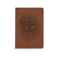 Denik Its going to be okay Vegan Leather Lined Notebook