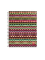 Miquel Rius ZigZag Warm 4 Subject Notebook