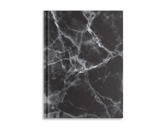 Pierre Belvedere Large Notebook Black Marble  (Exclusive)