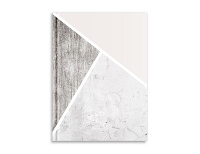 Pierre Belvedere Blush & Marble Large Notebook, Trio Marble