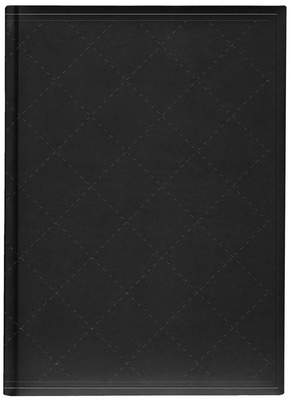 Pierre Belvedere Goth Opulence Large Journal, Quilted Black