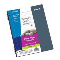 Oxford Stone Paper Notebook 512 X 812 60 Sheets