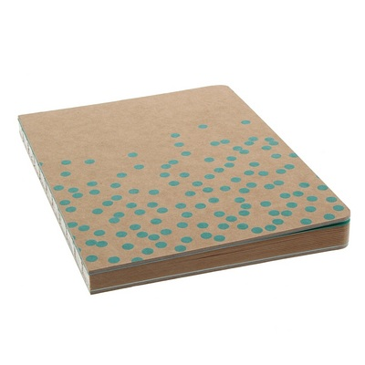 MacPhersons  LTD KRAFT DOT JOURNAL 6X8 ARCADIA