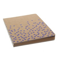 MacPhersons  LTD KRAFT DOT JOURNAL 6X8 VIOLET