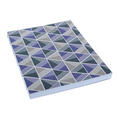 MacPhersons  LTD BOLD GEO JOURNAL 6X8 NAVYVIOLET