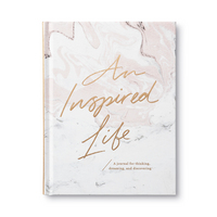 An Inspired Life by Compendium A Journal for Thinking  Dreaming  and Discovering