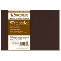 Strathmore Softcover Watercolor Art Journal, 400 Series (7.75 x 9.75)