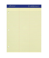 Ampad Double Sheet Writing Pads, Green tint, Law Rule, 100 SHPD