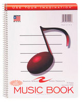 Wirebound Music Book