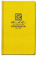 #540F Rite In The Rain Bound Book  Geological Field Book