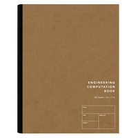 Tops Engineering Computation Book 8.5 x 11 100 Sheets