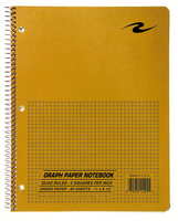 Roaring Spring Graph 1Subject 11 x 8.5 Notebook, 80 Sheets