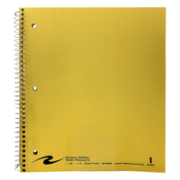 Roaring Spring Law Ruled 1Subject  11 x 9 Notebook