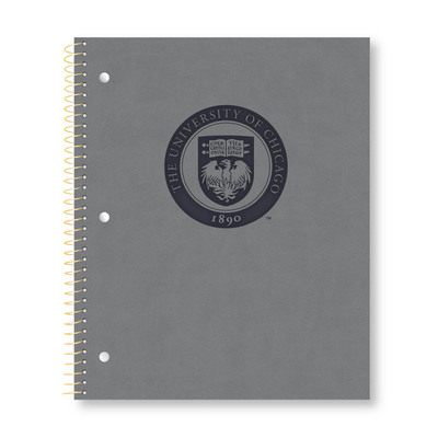 Imprinted 1Sub Wirebound Notebook, 11 x 9, Impressions Cover
