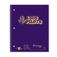 Roaring Premium 1 Subject Notebook 8.5x11 College Ruled  20lb Paper Saranac Cover with Foil