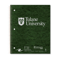 Imprinted Quad Ruled 1 Subject Stasher Notebook with 20lb. Heavyweight Paper, 11 x 9, 80 Sheets