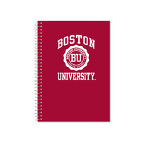 Imprinted College Ruled 3 Sub Notebook, Heavyweight Paper, 3 Double Pockets, 9.5 x 6.5, 120 Sheets