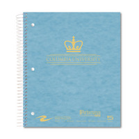 Imprinted College Ruled 5 Subject Notebook, Heavyweight Paper, Double Pocket, 11 x 9, 160 Sheets