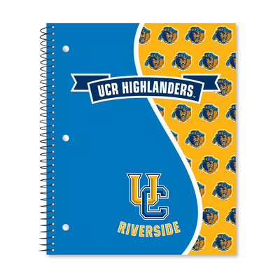 3 sub imprinted notebook.  11 x 9 College Ruled 120 sheets.  Digi Divide Cover Design