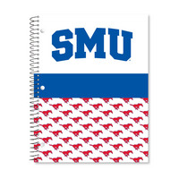 1 sub imprinted notebook.  11 x 8.5 College Ruled 70 sheets.  Digi Tri Cover Design