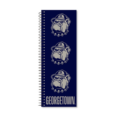 College Ruled Tall Tales Notebook with Printed Cover, Black Wire, 11 x 4, 50 Sheets