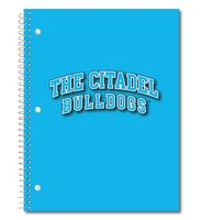 1 sub imprinted notebook.  11 x 8.5 College Ruled 70 sheets.  Digi Spirit Cover Design