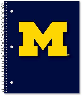 3 sub imprinted notebook.  11 x 9 College Ruled 120 sheets.  Digi Spirit Cover Design