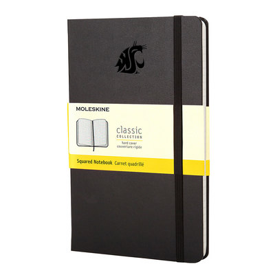 Large Squared Moleskine Notebook