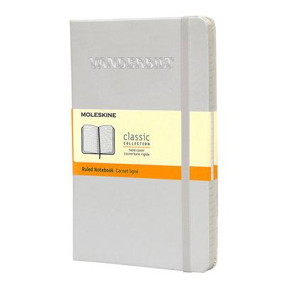 Large White Ruled Moleskine