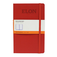 Moleskine Pocket Notebook with Debossed School Name, Ruled