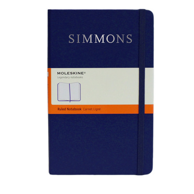 Moleskine Large Notebook with Foil Stamped School Name, Ruled