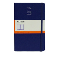 Moleskine Large Notebook with Debossed Logo, Ruled