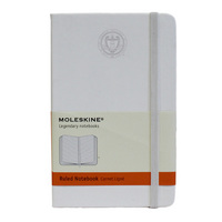 Moleskine Large Notebook with Debossed Seal, Ruled