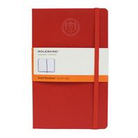Moleskine Pocket Notebook with Debossed Seal, Ruled