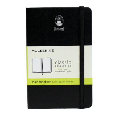 Moleskine Pocket Notebook with Debossed School Name, Unruled