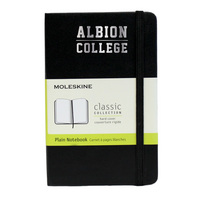 Moleskine Pocket Notebook with Foil Stamped School Name, Unruled
